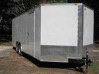NEW for SALE! 8.5 ' by22 ' enclosed trailer Call us