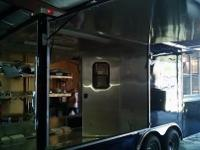 New 8.5x24 Concession/BBQ Trailer 8.5x24 with 5200lb