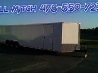 New 8.5x34' Enclosed Trailer w/Spare Tire