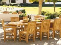 This post includes our attractive 9pc KINGSTON TEAK