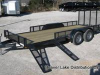 NEW!!!!82x18 Tandem ATV Trailer LIMITED TIME OFFER-