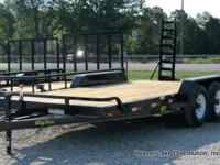 "NEW!!!!83""X18' Tandem Axle Equipment Trailer LIMITED"