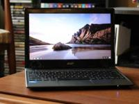 Selling my Acer Chromebook labtop, I used this labtop