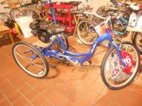 have a brand-new blue schwinn trike for $250 similar to