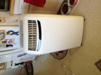 Sunbeam window mount air conditioner ran less than 1