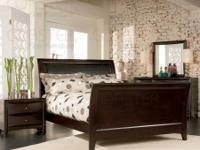 Akita collection platform bed that has a unique modern