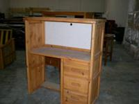 Very sturdy new all wood student desk at Clearance