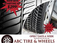 TIRE SALE !!!    OPEN 7 DAYS