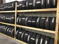 We sell New and Used Tires at great prices!!  We can