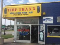 "VISIT OUT REPAIR SHOP ""TIRE TRAXX"" @ 2101 FORT ST"