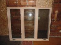 CRESTLINE TRIPLE CASEMENT ALUMINUM CLAD WOOD WINDOW
