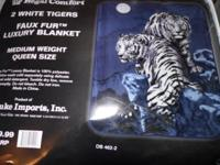 Brand new animal blankets for sale. Only $25 each. Pick