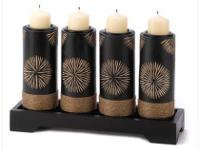 "Brand New Artisan Tea Light Centerpiece it is 11"" x 3"
