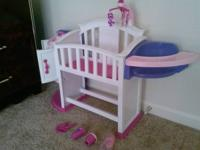 New put together infant plaything baby room with sink,