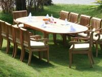 Featuring Our popular 13pc KUTA TEAK DINING SET (see