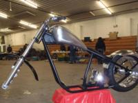 New never on the road Midwest Manufacturing frame with