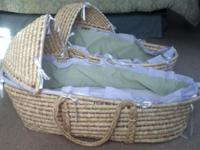 Moses baskets brand new were bought for twins but not
