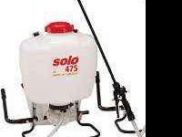 This is a brand new back pack sprayer by solo. never