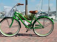 Enjoy a comfortable ride on the beach or around town in