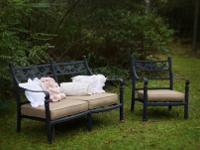 Brand new patio furniture from the Savannah Outdoor