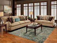 NEW! Gorgeous Sofa with 5 Accent Pillows! Funding