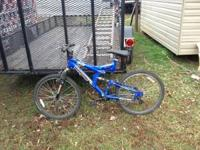 Mongoose Bike-Blue-Like New-Paid $129.99 for Birthday