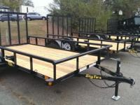The 35SA Single Axle Utility Trailer. from Big Tex