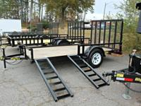 The 35SA-RSX Single Axle Utility Trailer. from Big Tex