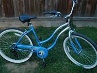 Kent 26'' bike ( Siesta key) 7 speed shimano parts.