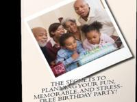 Planning a kids party in 2015? My book The Secrets to