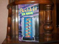 Black Light CD Holder, still in box, never been used.