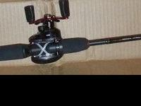 New Abu Garcia Black Max Combo Brand New, Never Used 24