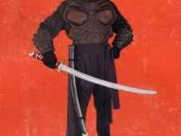 Black Ninja Costumes - New in package Swords not