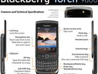 FOR SALE NEW BLACKBERRY 9800, ORIGINAL BOX, ALL
