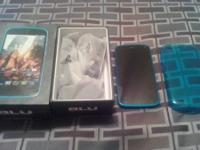 I have a New BLU in the box very nice phone comes with