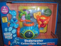 New and unusual in the box! Blue's Clues Underwater