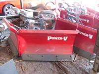 BRAND NEW BOSS V- BLADE SNOW PLOWS SEVERAL SIZES AND