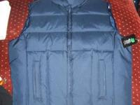 New Boys Size XXL 16/18 Vest Dark Blue PBXBasics Never
