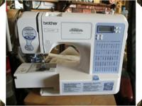 COMPUTERIZED SEWING MACHINE, BROTHER (THE BEST), 50