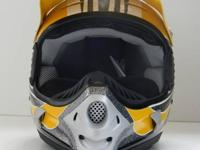 Product Features:  Moto style helmet with snowcross