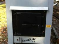 Hi, R & J Products provides new Burnrite outdoor coal