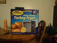 NEW BUTTERBALL TURKEY FRYER IF INTERESTED CALL  OR