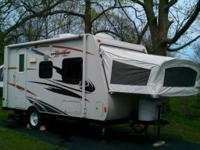 New camper only used twice. 19 feet Sleeps 8 Has