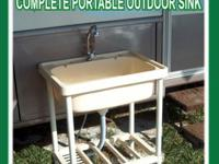 NEW Full-Size Portable Sink ~ Outdoor Kitchen ~ FREE