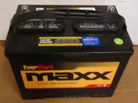 We have a few new car batteries.  $75 each, exchange.