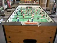 New Carrom Signature Foosball Table (Moroccan) MADE IN