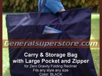 NEW CARRY AND STORAGE CASE FOR ZERO GRAVITY FOLDING
