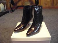 NEW CATO BROWN ANKLE BOOTS, SIZE 8M POSSIBLE DELIVERY