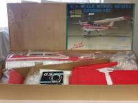 VINTAGE CESSNA 182 RC Airplane ARF Lion Model Co., O.S.