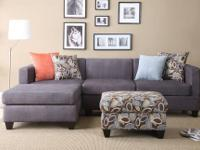 THIS LOVELY SECTIONAL CHAISE SOFA GIVES YOU THE OPTION